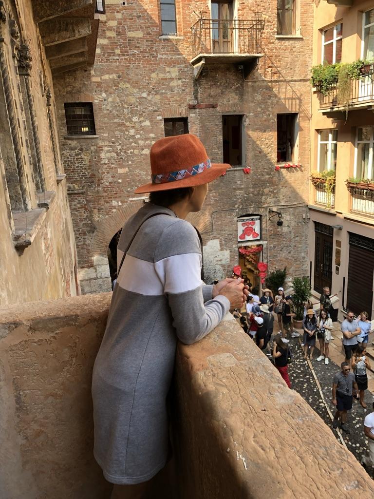 Veronan Julian ja Romeon parveke