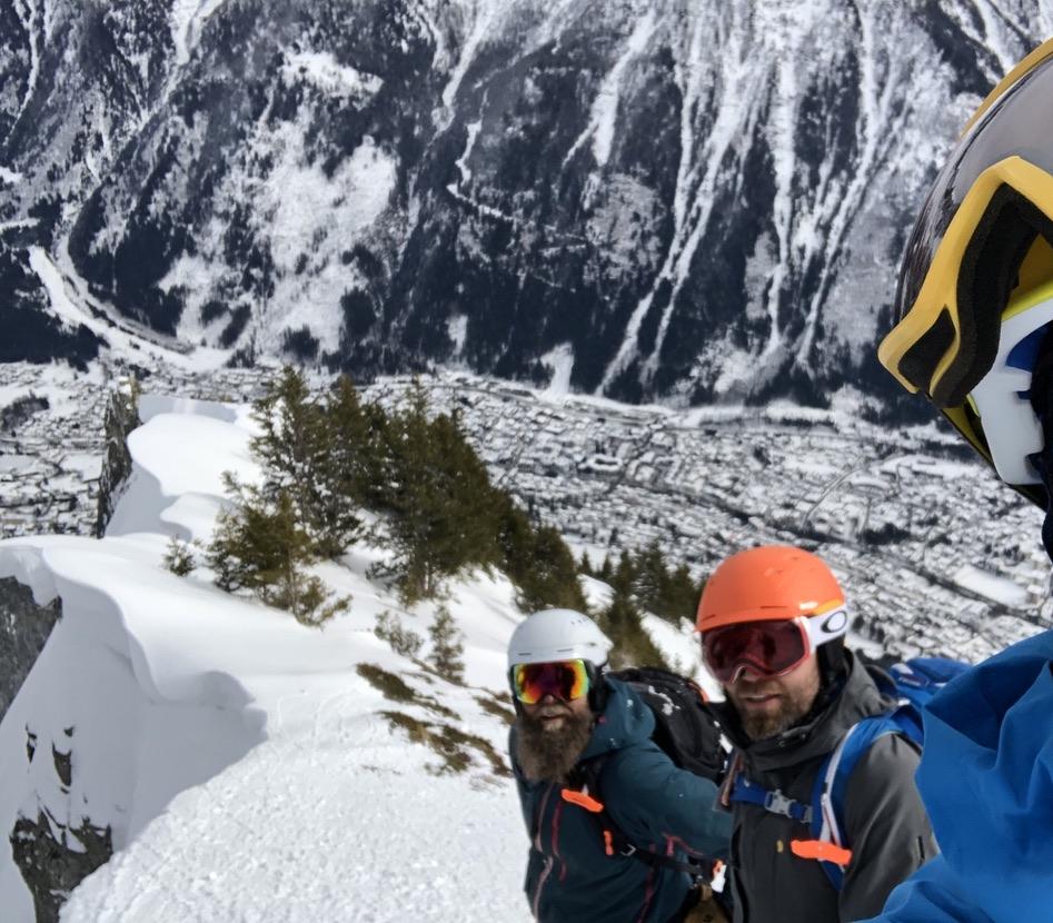 hiihtovaellus Chamonix