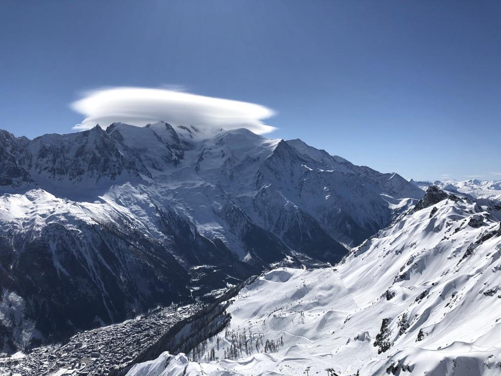 Chamonix hiihtovaelluksella