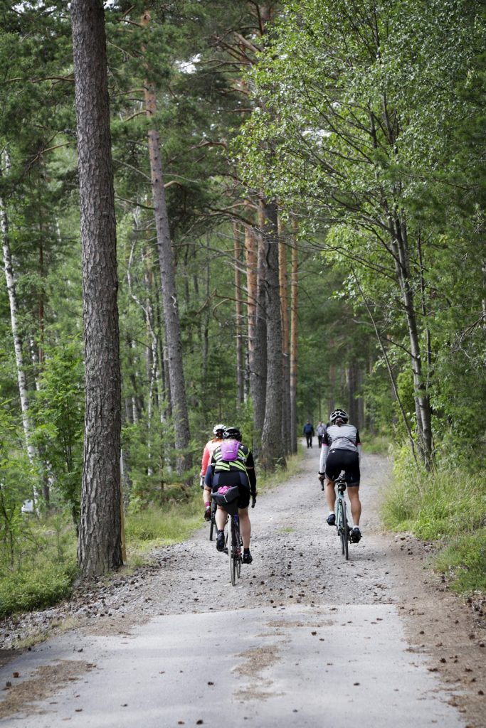 Pyöräily on ihanaa ja sopii kaikentasoisille.