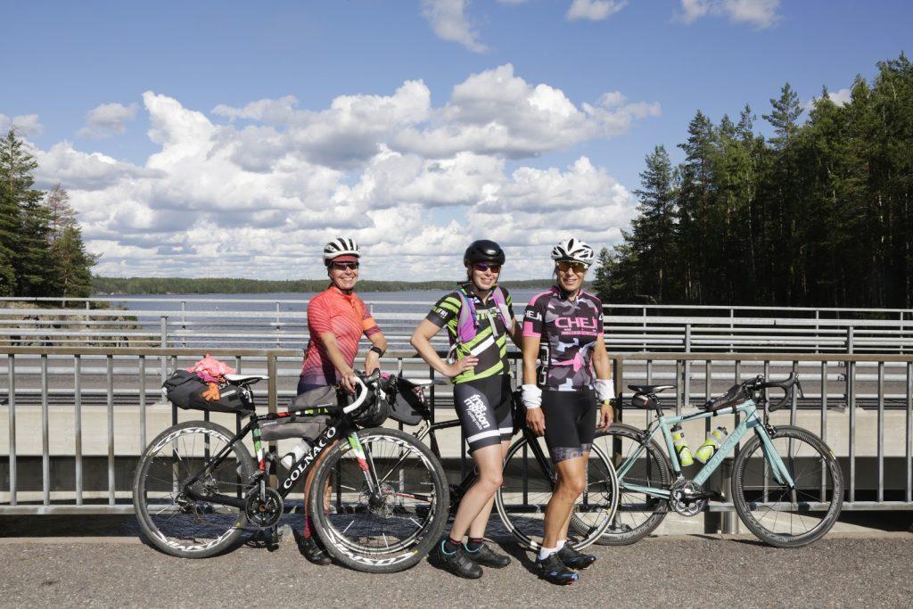 Discover Saimaa, pyöräretkeläiset