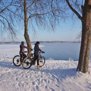 talvipyöräily