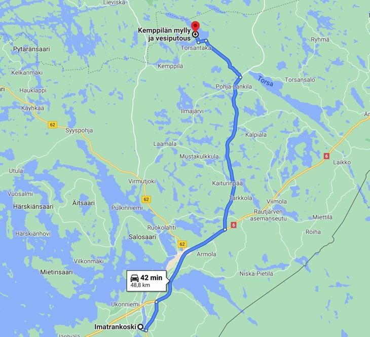 imatra - Kempppilän Myllykoski