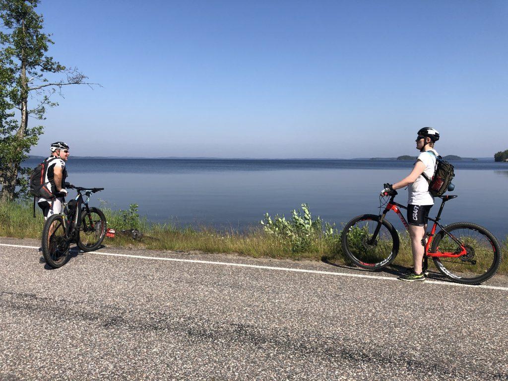 Pyöräilyä Kyläniemessä