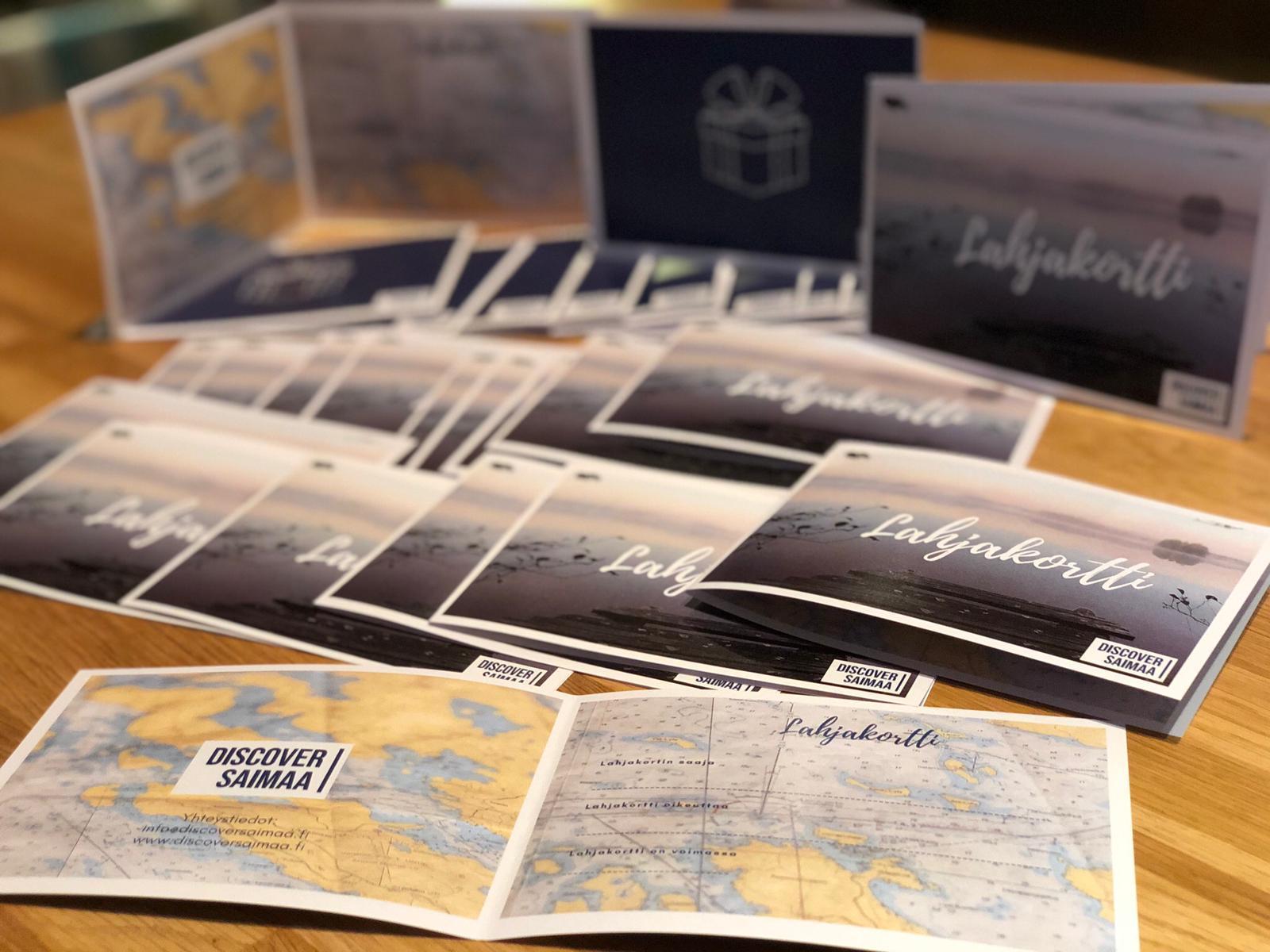 Discover Saimaa lahjakortit